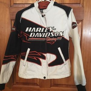 Harley Davidson racing jacket